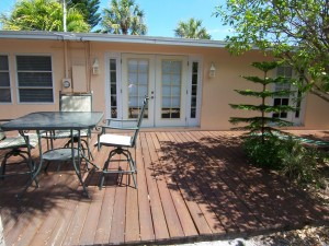 DePalmas Side Deck Annual Rental