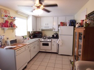 Convenient Kitchen with Full Pantry