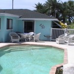Back yard with Pool