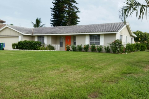 RENTED – Key Royale canal home – $2200 mo.